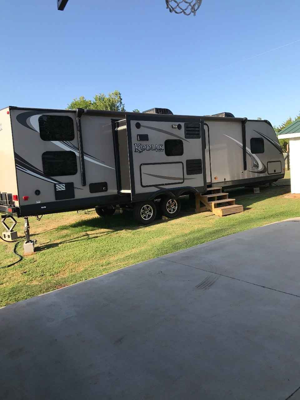 Kodiak Travel Trailer >> 2014 Used Dutchmen KODIAK 300BHSL Travel Trailer in Oklahoma OK