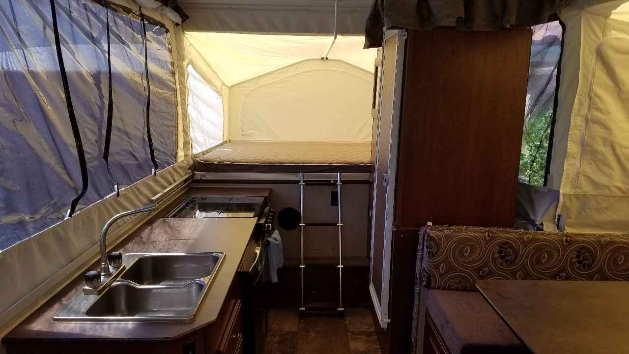 Used Tires Tampa >> 2014 Used Forest River ROCKWOOD HIGH WALL HW276 Pop Up Camper in Florida FL