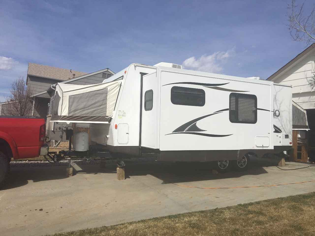 2014 Used Forest River ROCKWOOD ROO 23IKSS Travel Trailer ...