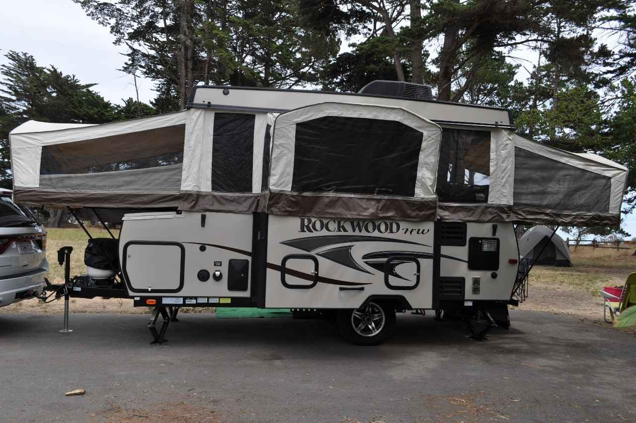 2014 Used Forest River Rockwood High Wall Pop Up Camper In