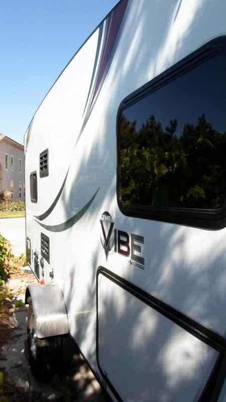 2014 Used Forest River V Cross Vibe 6501 Travel Trailer In
