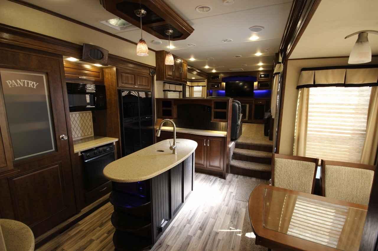 Grand Design Solitude 379Fl >> 2014 Used Grand Design Solitude 379FL Fifth Wheel in New Hampshire NH