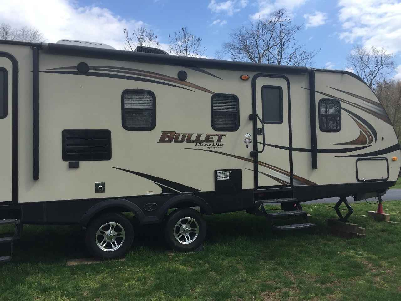 Toyota Dealers Pa >> 2014 Used Keystone BULLET ULTRA LITE Travel Trailer in Pennsylvania PA
