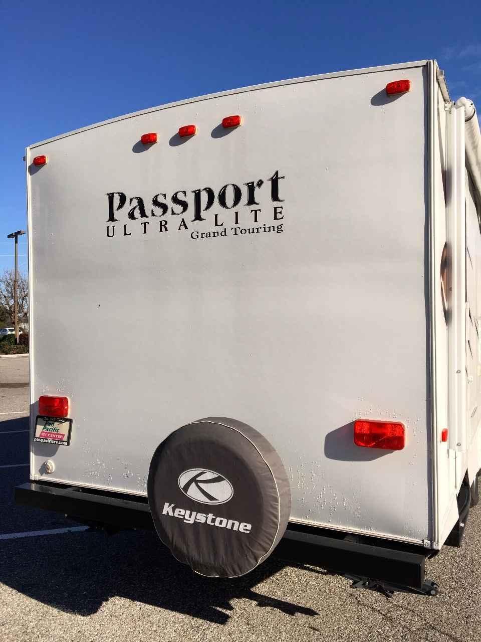Luxury 2014 Used Keystone PASSPORT 2810BH Travel Trailer In