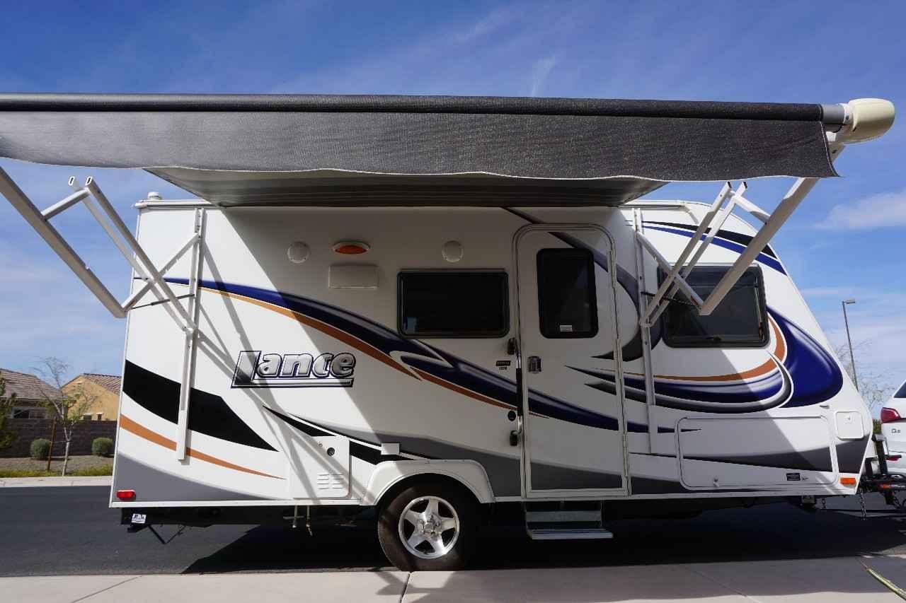2014 Used Lance 1575 Travel Trailer In Arizona Az