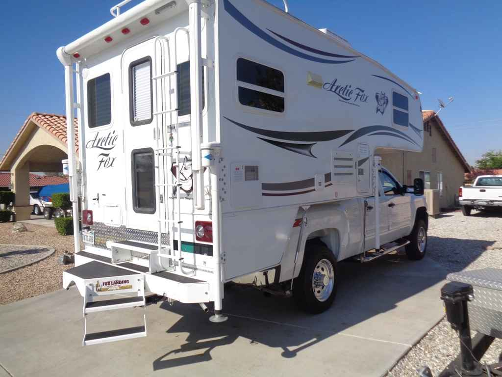 2014 used northwood mfg arctic fox camper 865 truck camper