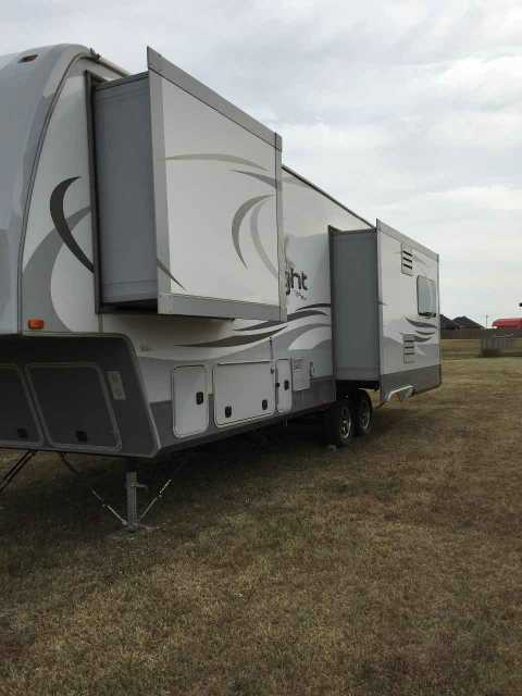 2014 Used Open Range Light 318rls Fifth Wheel In Oklahoma Ok