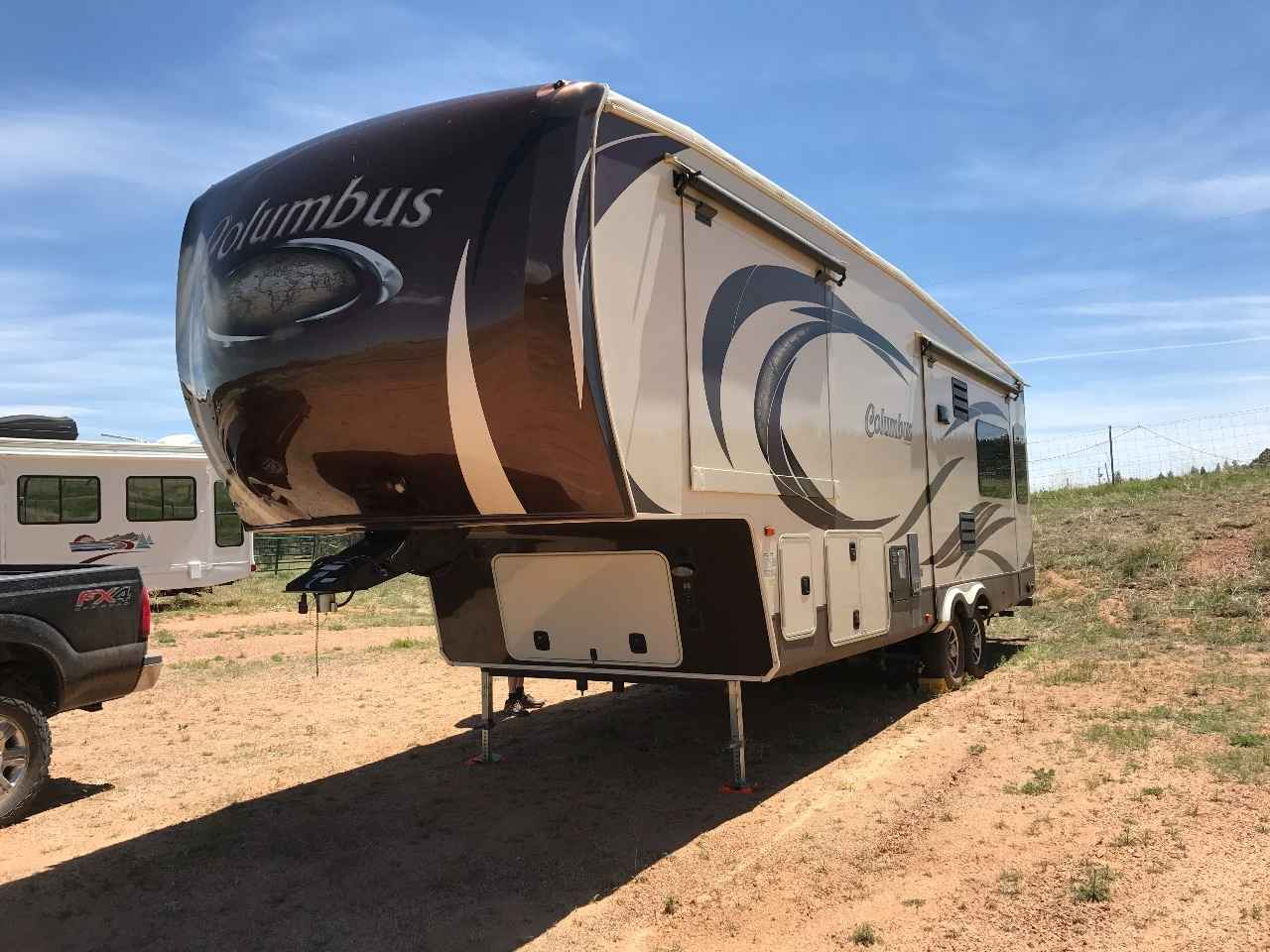 2014 Used Palomino Columbus 295rl Fifth Wheel In Colorado Co