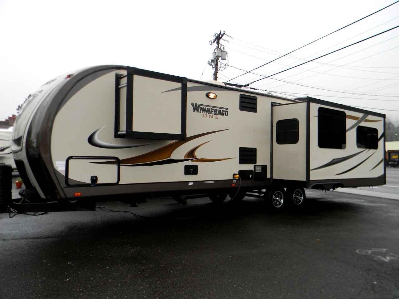 2014 Used Winnebago One Travel Trailer In Washington Wa