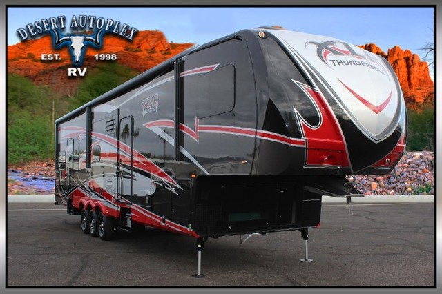 2015 New Forest River 395amp Thunderbolt Toy Hauler In