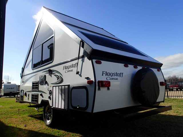 2015 New Forest River Flagstaff Tent Hard Side 12bh Truck