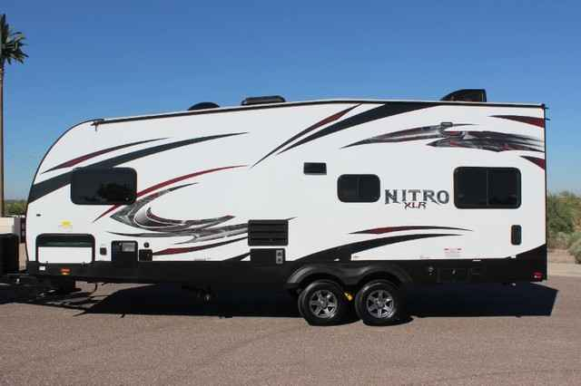 2015 New Forest River Nitro Xlr 24fq Sl Toy Hauler In