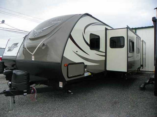 2015 New Forest River Surveyor bunkhouse/ West 321BHTS ...