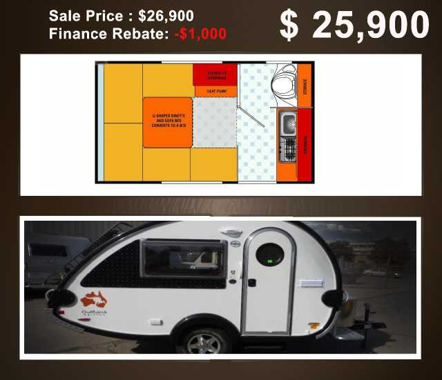 2015 New Little Guy Tab Outback Travel Trailer In Colorado Co