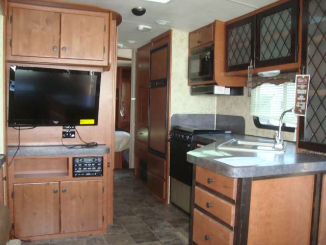 2015 New Northwood Snow River 266rds Travel Trailer In