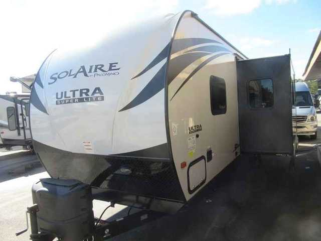 2015 New Palomino Solaire Ultra Lite 28qbss Travel Trailer