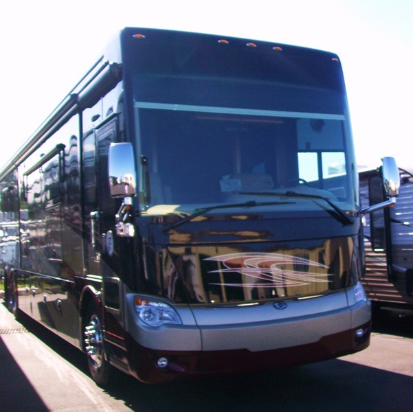 2015 new tiffin motorhomes allegro bus 45op class a in for D d motors greer sc