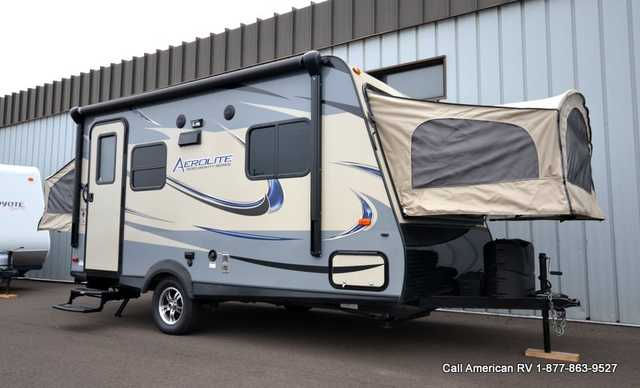2015 Used Dutchmen Aerolite 174e Travel Trailer In Michigan Mi