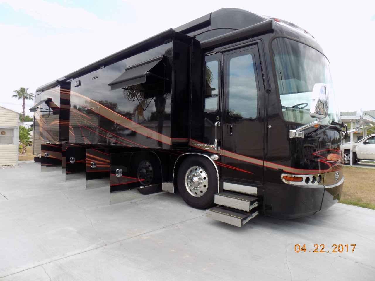 2015 Used Entegra Coach Cornerstone 45k Class A In Florida Fl