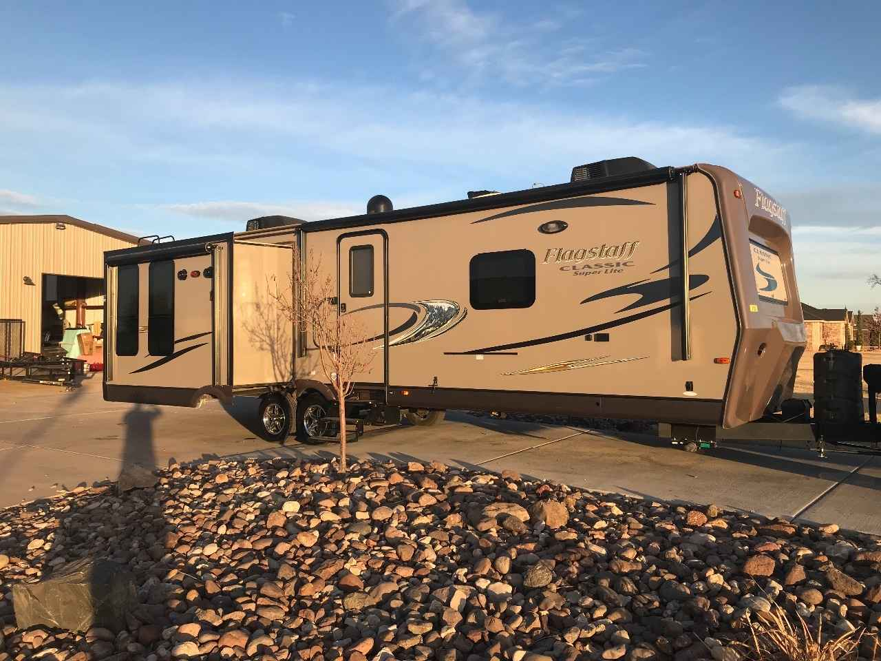 2015 Used Forest River Flagstaff Super Lite 832ikbs Travel
