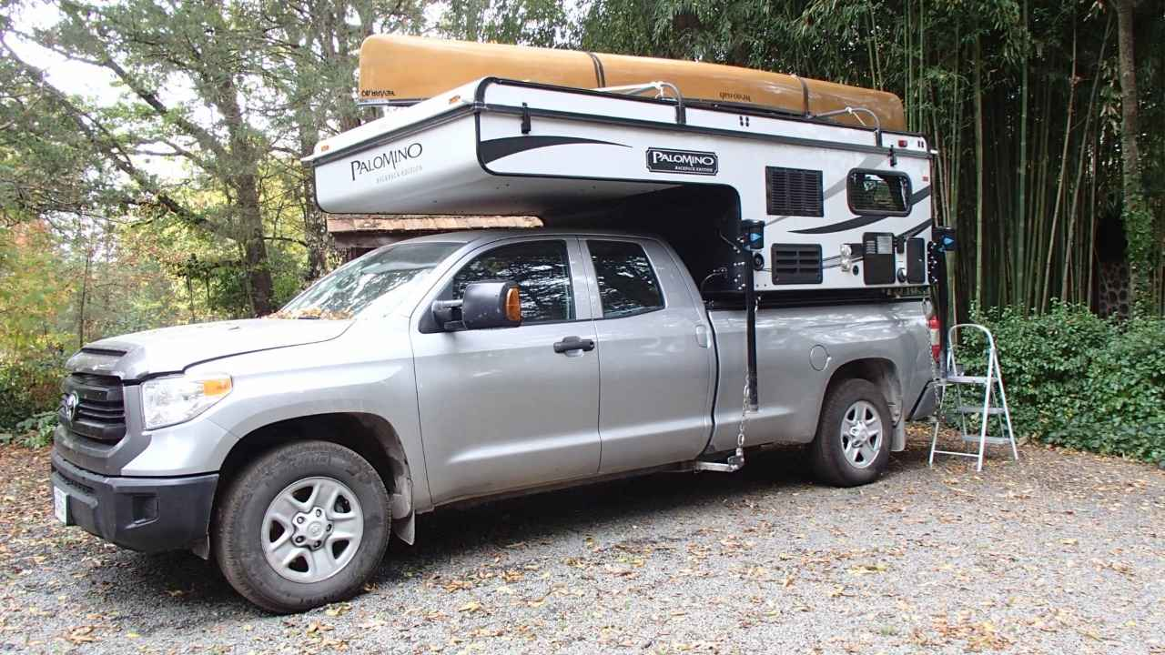 2015 Used Forest River Palomino Truck Camper In Virginia Va