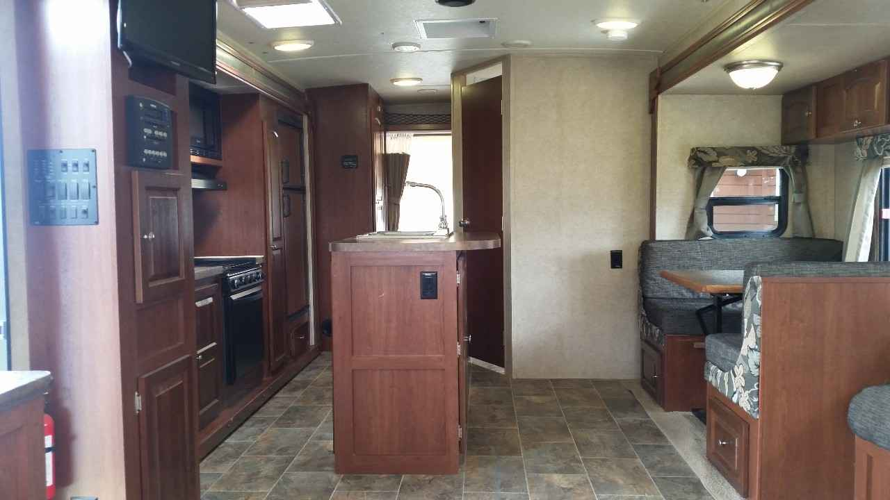 2015 Used Forest River ROCKWOOD ROO 23IKSS Travel Trailer ...