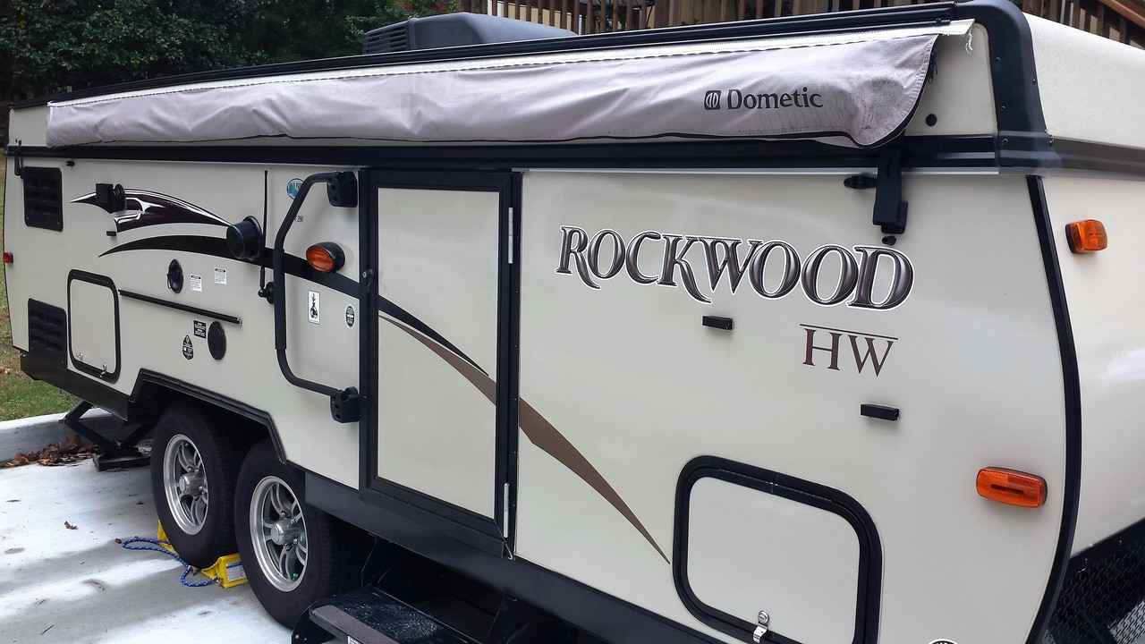 2015 Used Forest River Rockwood High Wall HW296 Pop Up
