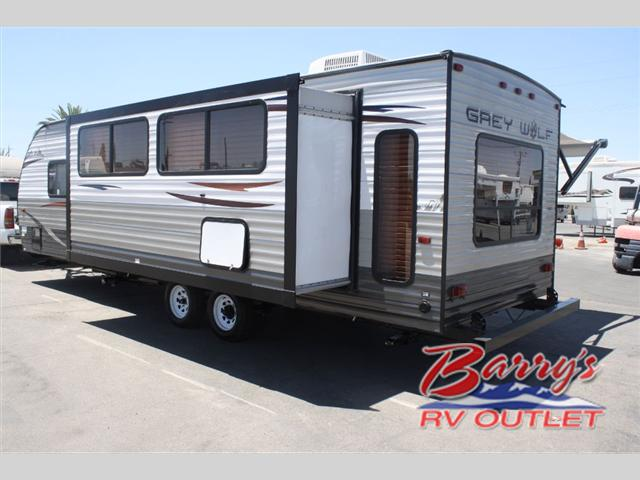 2015 Used Forest River Rv Cherokee Grey Wolf 26rl Travel