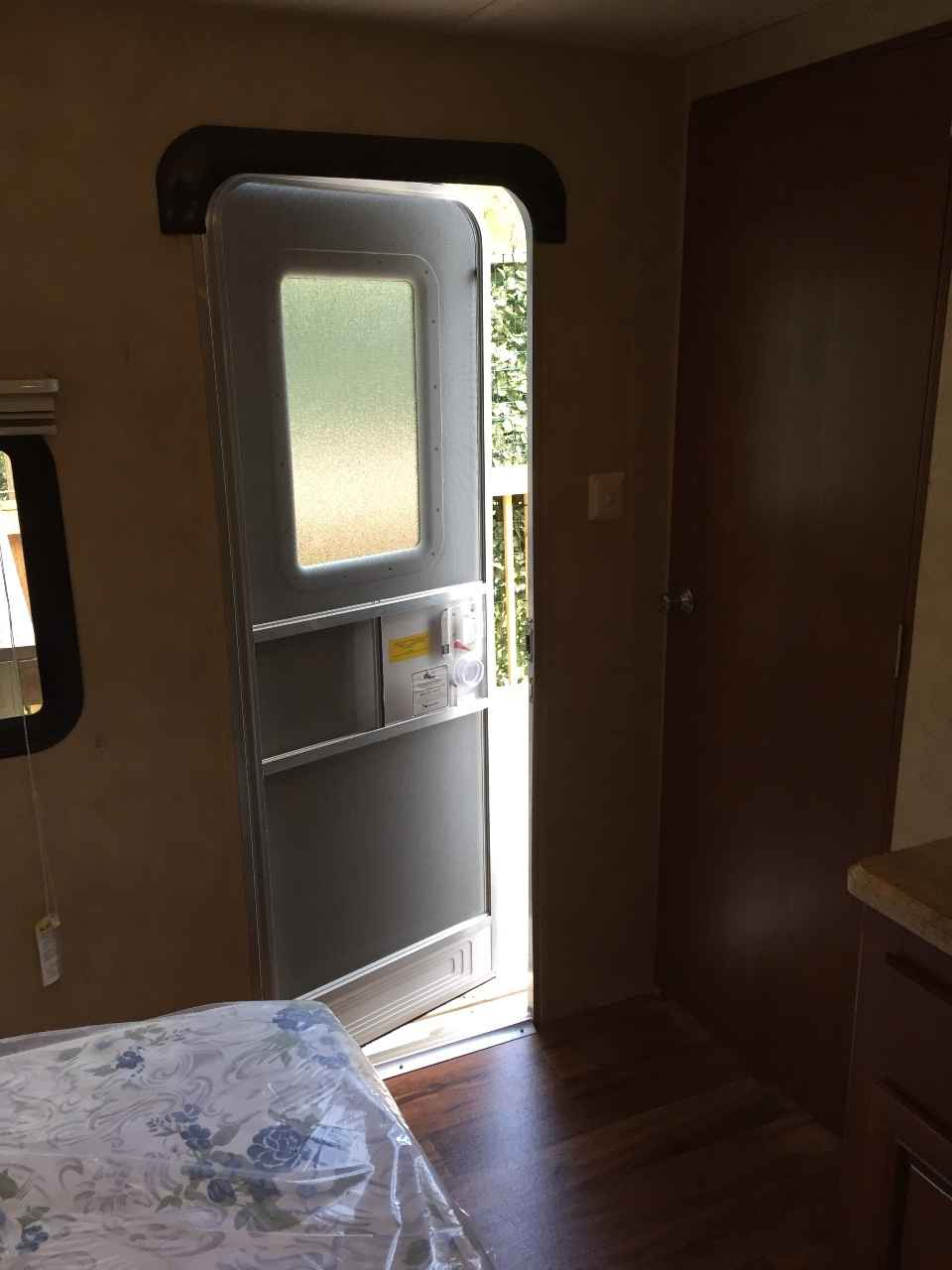 2015 Used Forest River Wildwood 38 Travel Trailer In