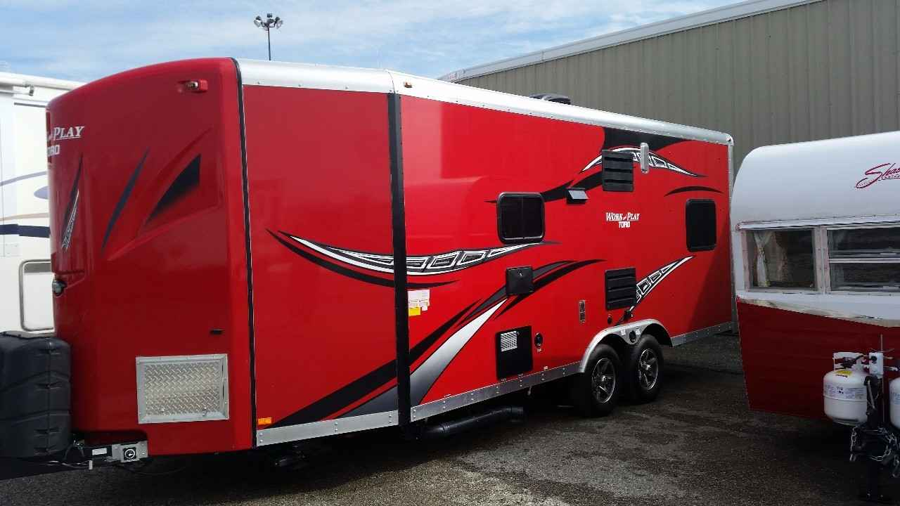 Work And Play 21Vfb >> 2015 Used Forest River Work And Play 21vfb Toy Hauler In