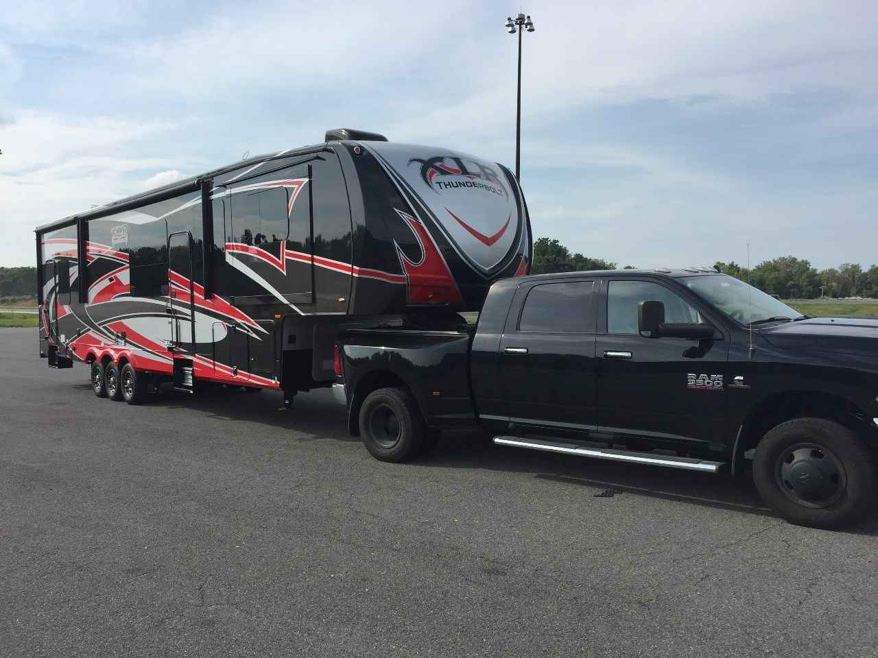 2015 Used Forest River Xlr Thunderbolt 385amp Toy Hauler