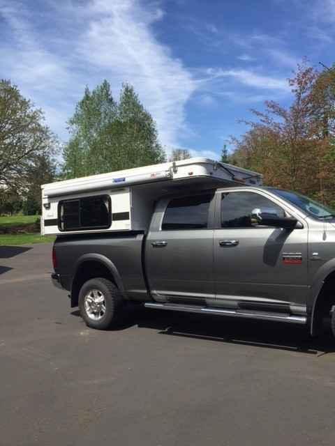 2015 Used Four Wheel Campers Hawk Pop Up Truck Camper In