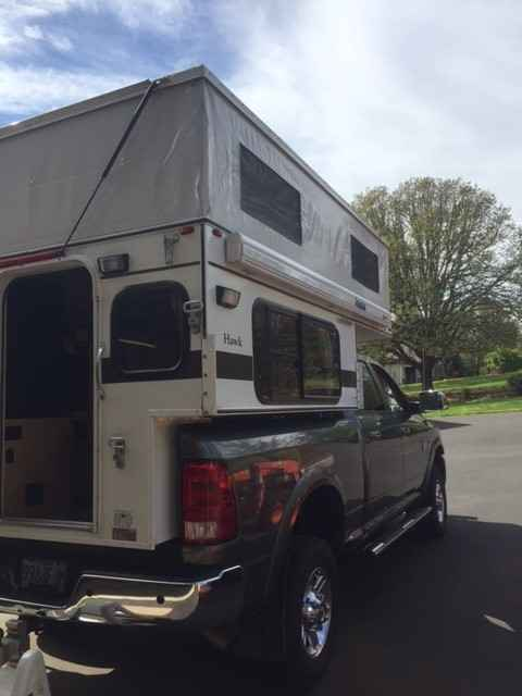2015 Used Four Wheel Campers Hawk Pop Up Truck Camper In