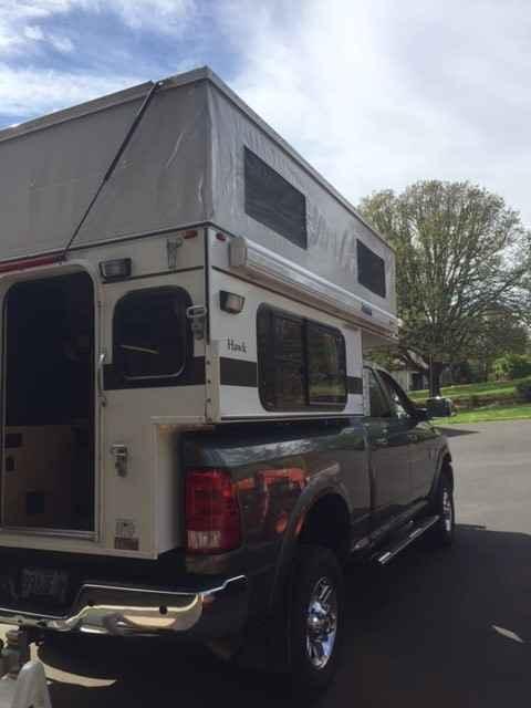 2015 Used Four Wheel Campers HAWK POP UP Truck Camper in Oregon OR