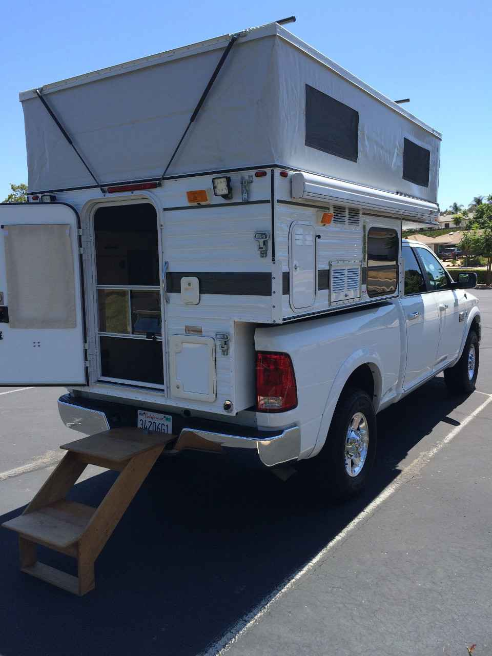 2015 used four wheel campers hawk pop up pop up camper in