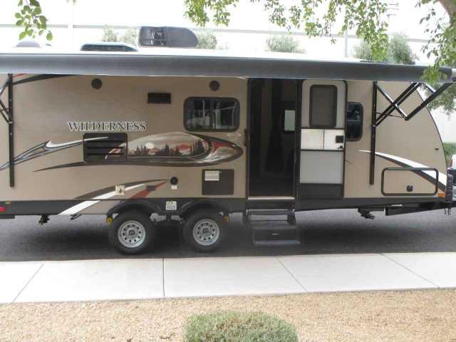 2015 Used Heartland Wilderness Travel Trailer In Arizona Az