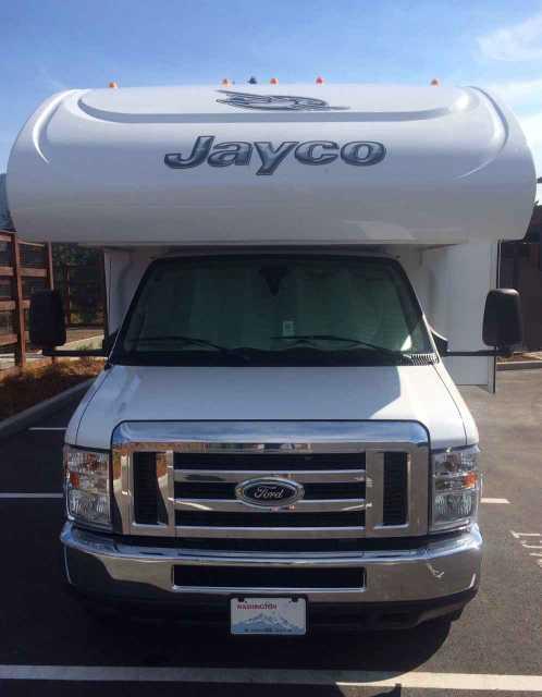 2015 Used Jayco Greyhawk 31fs Class C In Washington Wa