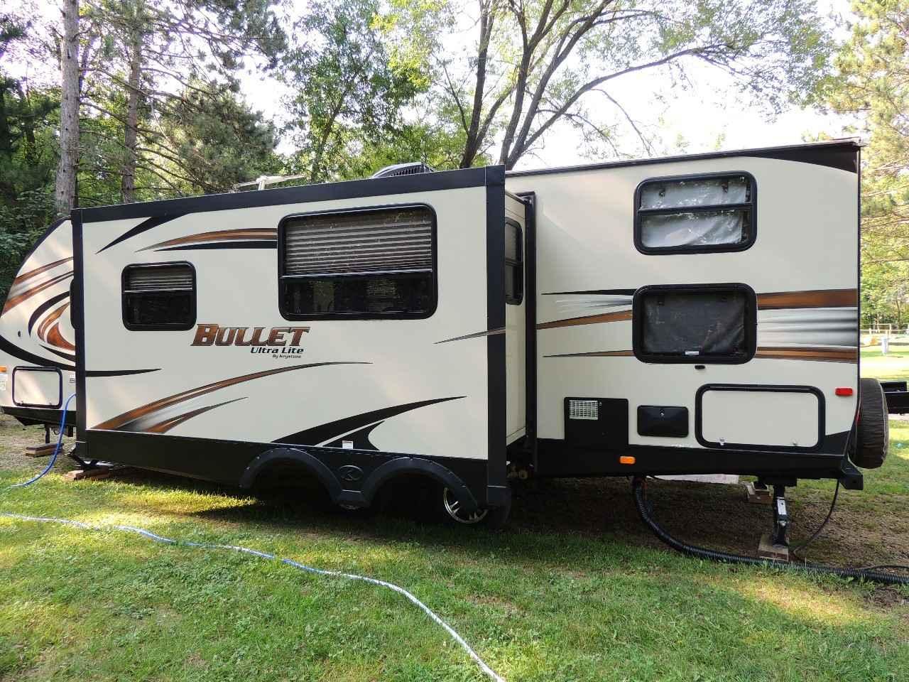 2015 Used Keystone BULLET ULTRA LITE 272BHSWE Travel ...