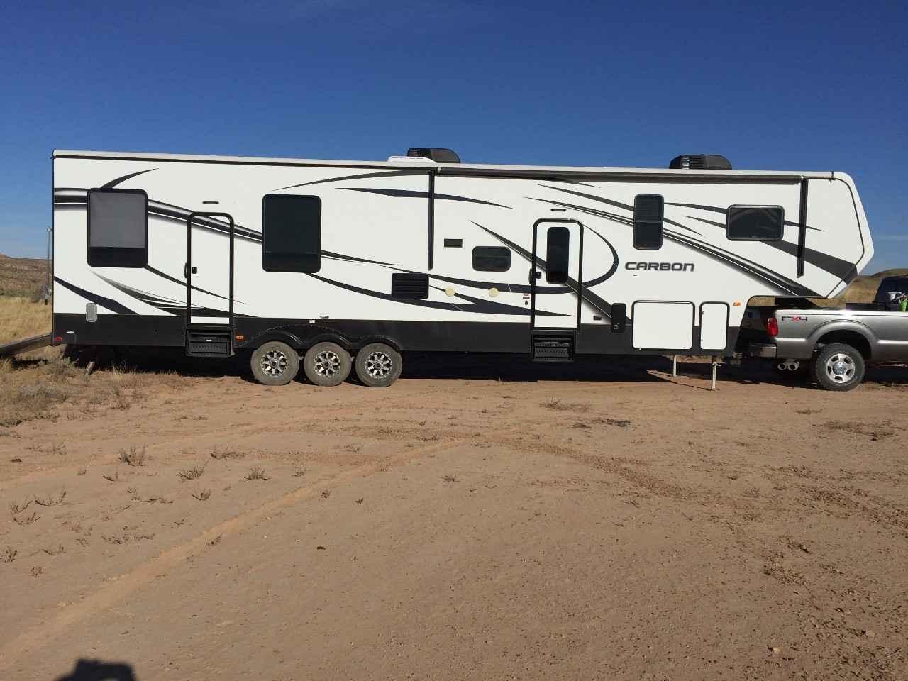 2015 Used Keystone Carbon 387 Fifth Wheel In Colorado Co