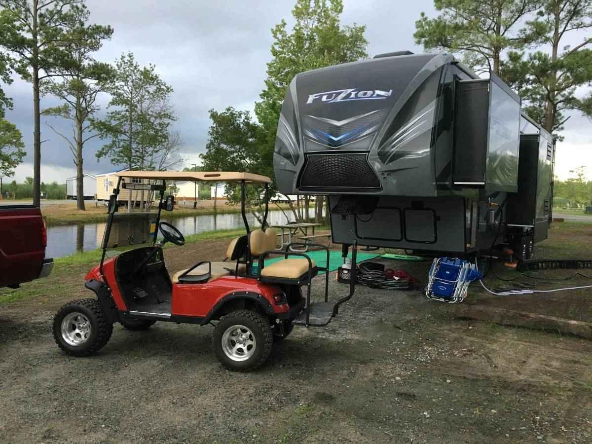 2015 Used Keystone Fuzion 371 Toy Hauler In Virginia Va