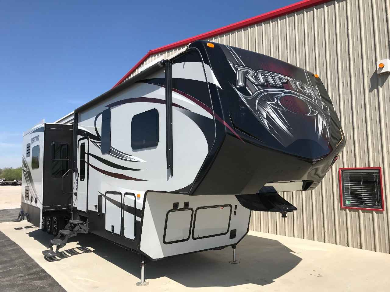 2015 Used Keystone Raptor 412ts Fifth Wheel In Oklahoma Ok