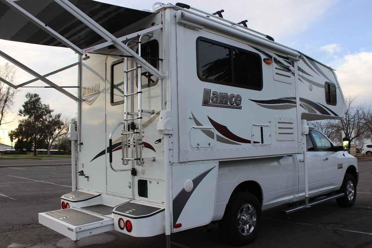 2015 Used Lance 995 Truck Camper In California Ca