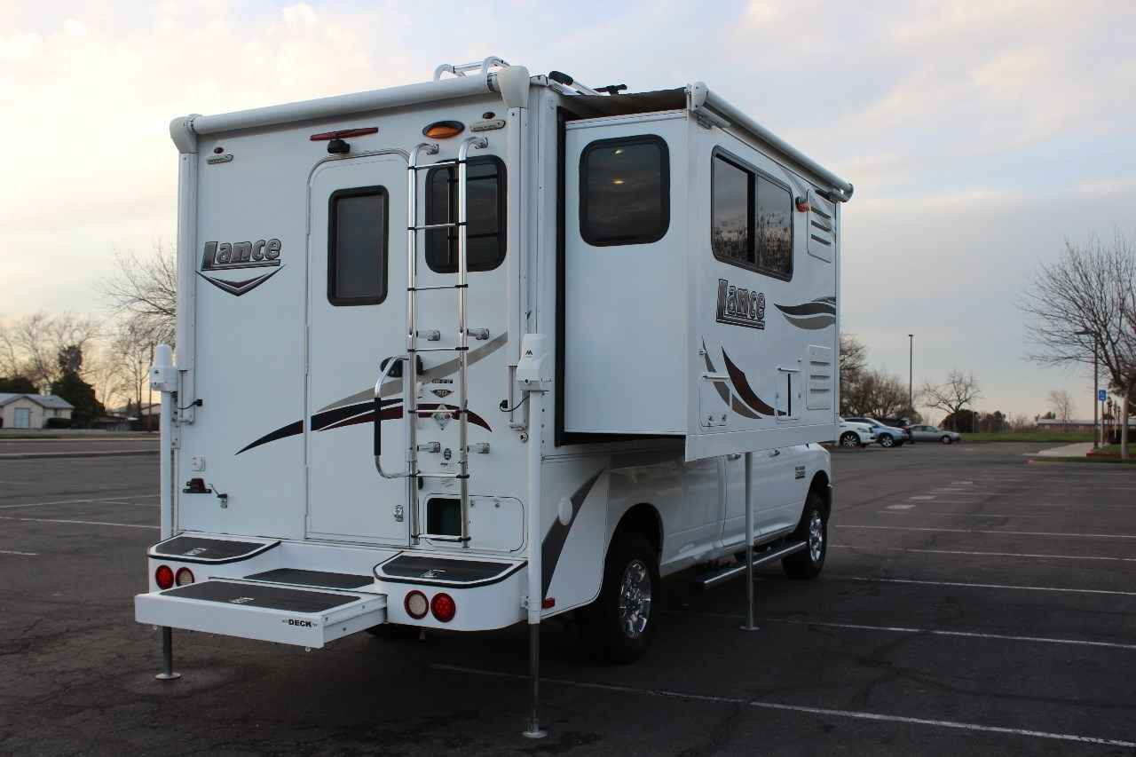 2015 Used Lance 995 Truck Camper In California Ca