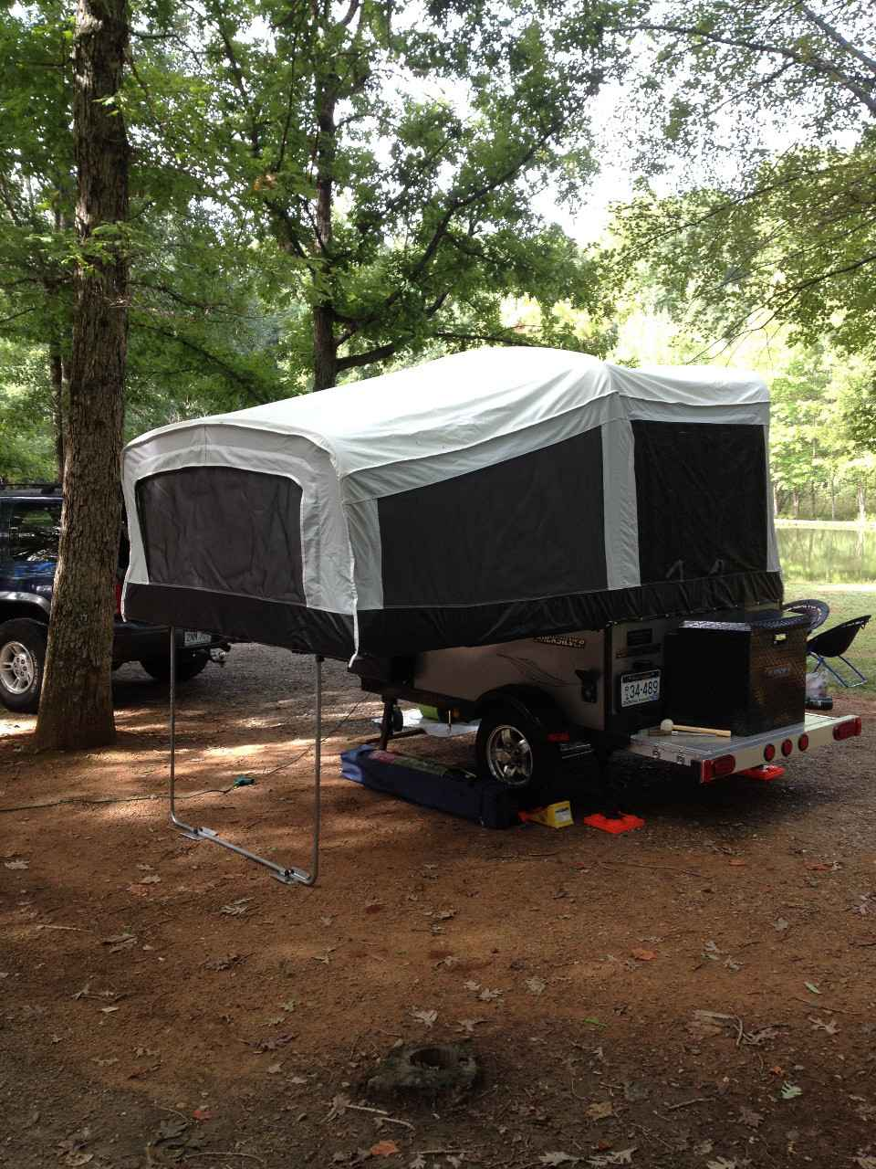 2015 Used Livin Lite Quicksilver 6 0 Pop Up Camper In