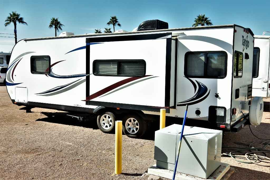 2015 Used Pacific Coachworks Tango Towlite 25rks Travel