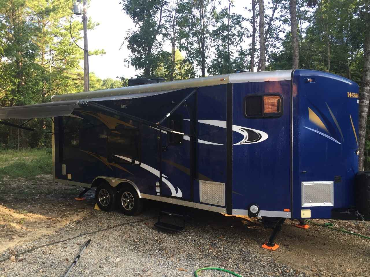 Work And Play 21Vfb >> 2015 Used Work And Play 21vfb Toy Hauler In Arkansas Ar