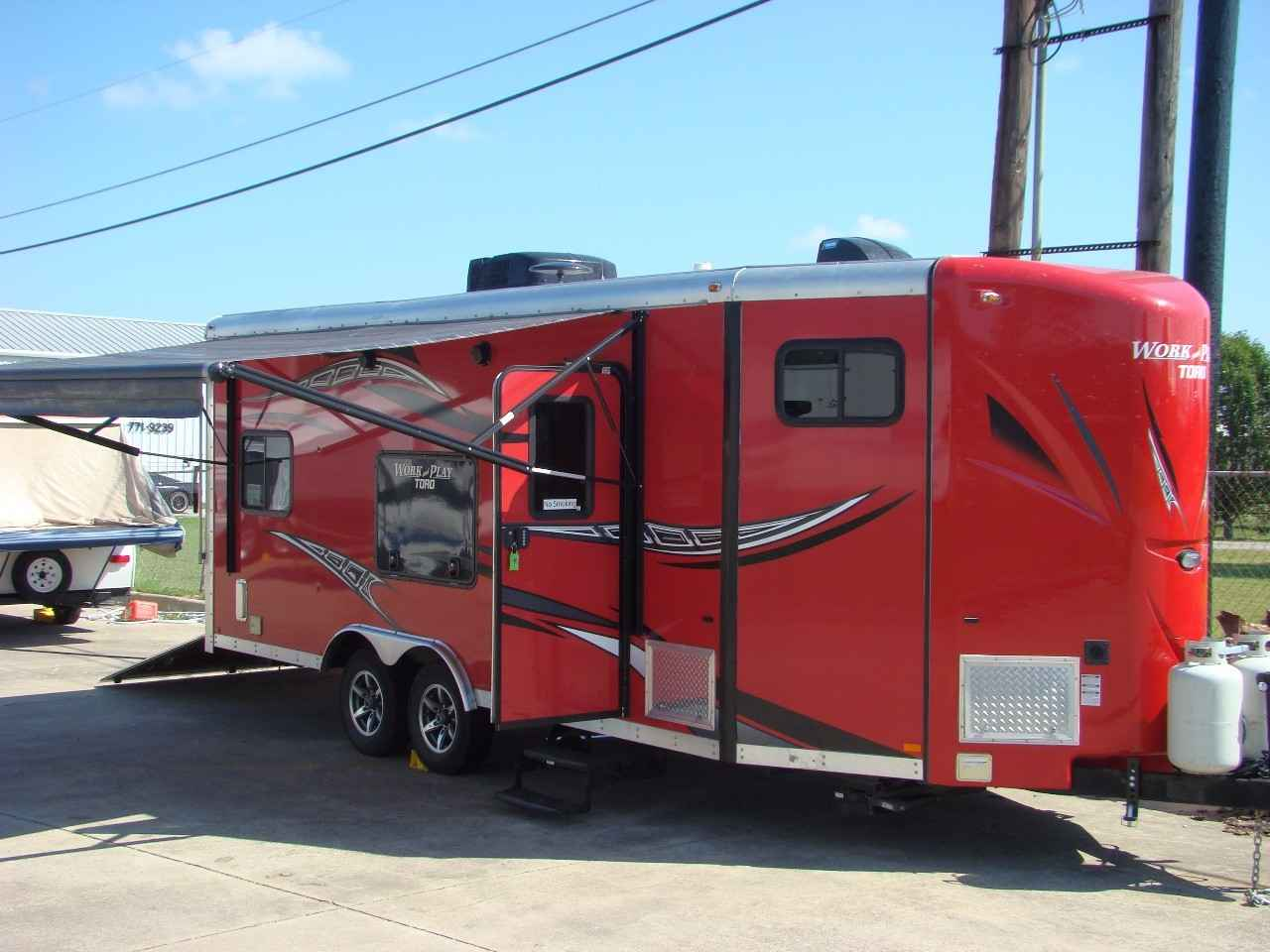 Work And Play 21Vfb >> 2015 Used Work And Play 21vfb Toy Hauler In Texas Tx