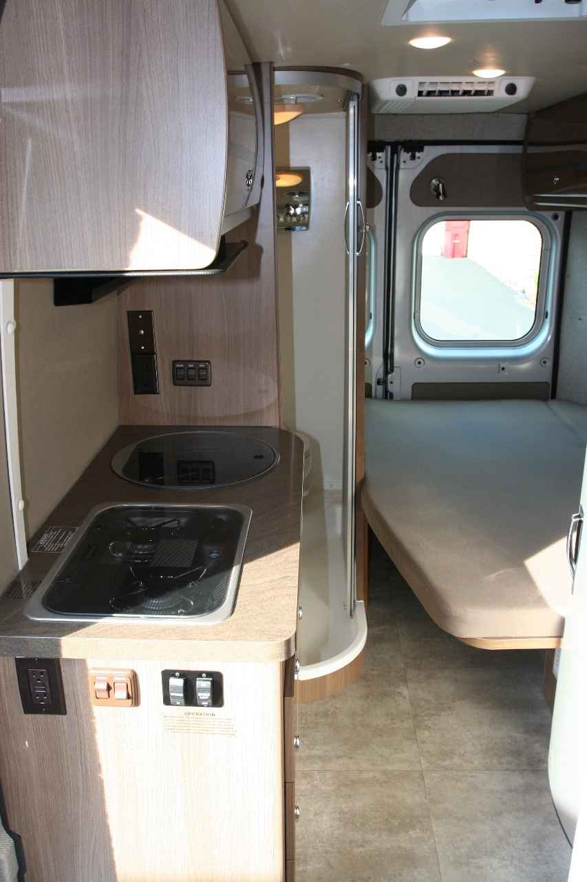 Beautiful Winnebago Industries Inc Has Completed  Front Wheel Drive, Hillclimb Assist Button, And An All Weather Use The Travato 59G Has A 24 Gallon Fuel Tank And 1618 Mpg Range The Fresh Water Capacity Is 22 Gals, Water Heater Has 4