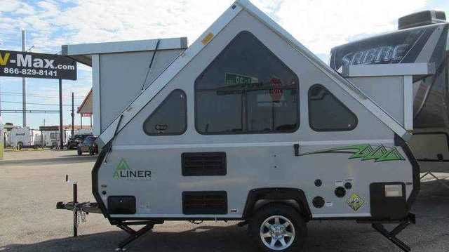 2016 New Aliner Classic Rear Sofa Bed Pop Up Camper In