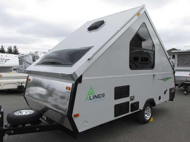 2016 New Aliner Ranger 15 Rear Sofa Bed Pop Up Camper in Washington WA